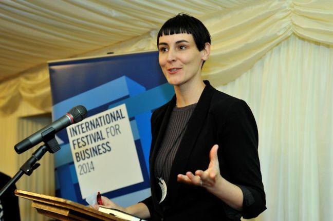 Entrepreneur Sarah Wood, Co-Founder of UNRULY