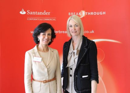 Santander Breakthrough Reception – Monday 13th May 2103