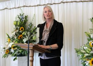 Margot James speaking at the Santander Breakthrough Reception – Monday 13th May 2013