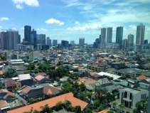 Jakarta skyline seen from British designed World Trade Center ll
