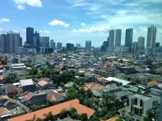 Jakarta skyline seen from British designed World Trade Center ll