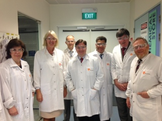 APPG visit research labs at GSK in Singapore