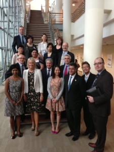 APPG educational visit to Insead in Singapore